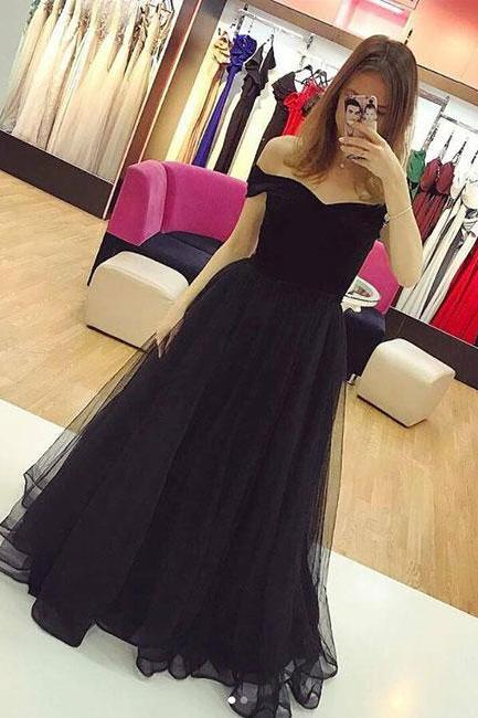 Charming Prom Dress, Tulle Prom Dresses, Long Evening Dress, Formal Gown
